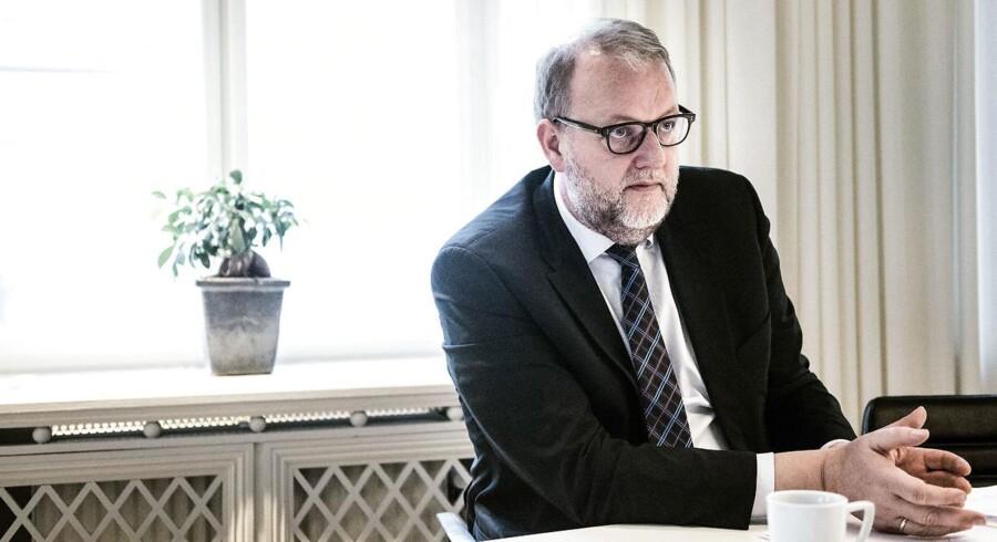 Arkivfoto: Energi-, forsynings- og klimaminister Lars Christian Lilleholt.
