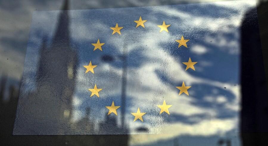 EU-begejstringen falmer. Foto: Luke MacGregor/Reuters