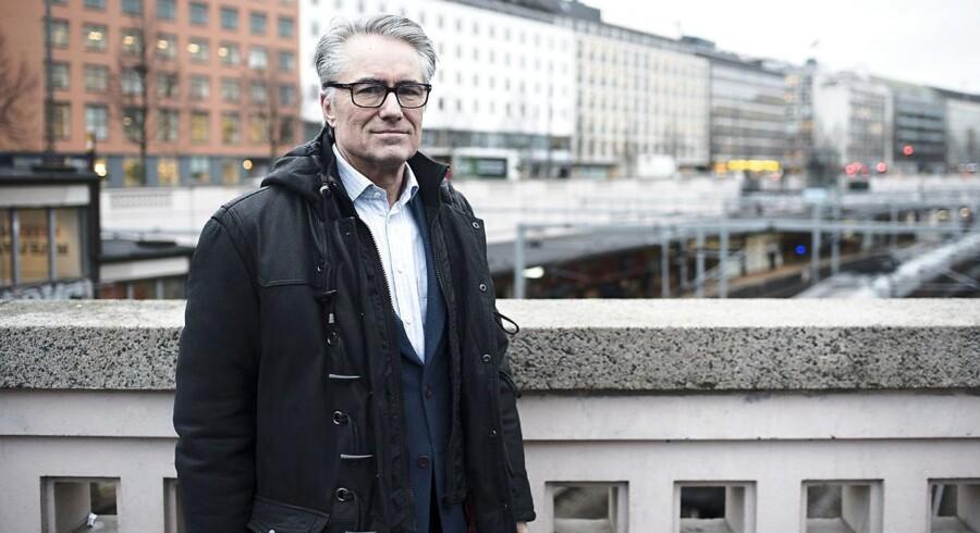 Jesper Rasmussen, manden bag banegravsprojektet, som Københavns Kommunens Teknik- og Miljøudvalg mandag diskuterede for første gang. Jesper Rasmussen er tidligere direktør i Banedanmark og i ingeniørfirmaet Carl Bro.