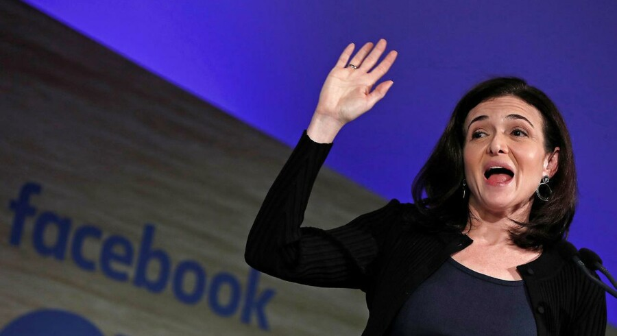 Sheryl Sandberg, øverst ansvarlige for Facebooks daglige drift, lover brugerne bedre kontrol over deres data som følge af EUs opstramninger af databeskyttelseslovgivningen. Arkivfoto: Yves Herman, Reuters/Scanpix