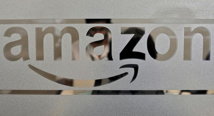 Amazons særlige afdeling for nettjenester, Amazon Web Services, etablerer sig nu massivt omkring Stockholm. Arkivfoto: Abhishek N. Chinnappa, Reuters/Scanpix