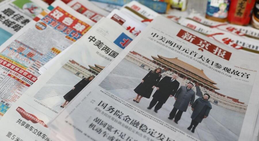 Arkivfoto. Truslen fra Nordkorea fylder ikke nær så meget i de kinesiske medier som i de vestlige.
