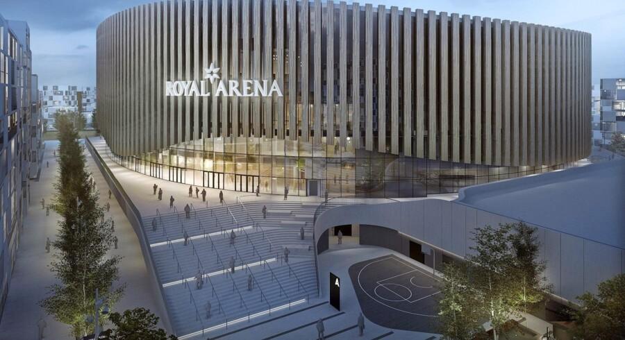 Indgangen til Royal Arena