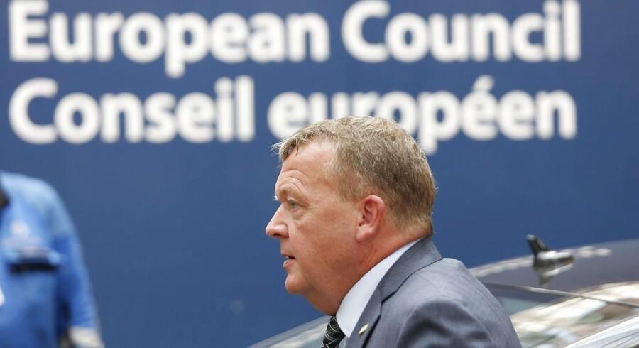 Arkivfoto. Hvis denne sag skal håndteres, skal den håndteres på europæisk plan, siger Løkke om Nord Stream 2-gasledning.