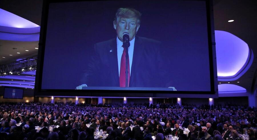 Trump har kritiseret USAs allierede - bl.a. Australien og medlemmerne af EU og NATO. Men endnu ikke Rusland.