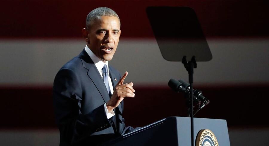 Arkivfoto: Barack Obama har i alt benådet 1.385 personer.