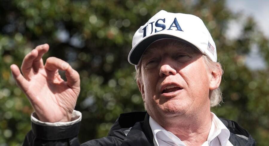 Donald Trump har i løbet af natten delt lussinger ud til både Iran, Kina og Rusland. Atomkonflikten er årsagen.