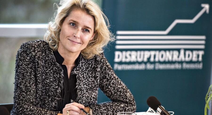 Direktør for Microsoft Danmark Marianne Dahl Steensen ses her på Disruptionsrådets pressemøde på Hotel Comwell i Rebild Bakker, tirsdag den 5. december 2017.. (Foto: Henning Bagger/Scanpix 2017)