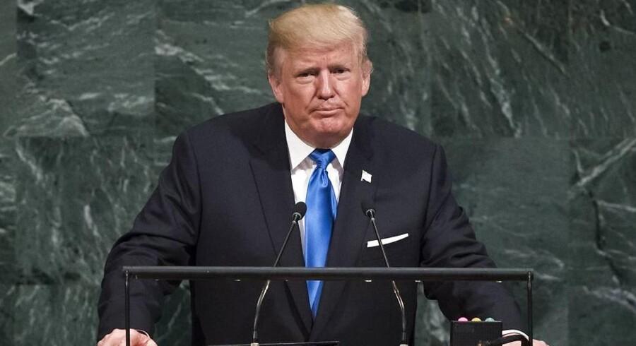 Søndag oplyste præsident Donald Trump, at Nordkoreas »morderiske regime« skulle sættes på USA's terrorliste.
