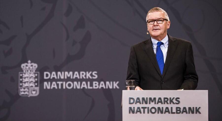 Lars Rohde, nationalbankdirektør i Nationalbanken i København onsdag d. 7 december 2016. (Foto: Ólafur Steinar Gestsson/Scanpix 2016)