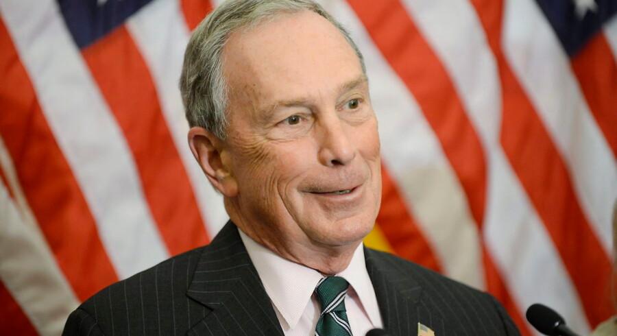 Ifølge avisen Financial Times er den tidligere borgmester i New York Michael Bloomberg muligvis klar til at stille op som uafhængig kandidat.