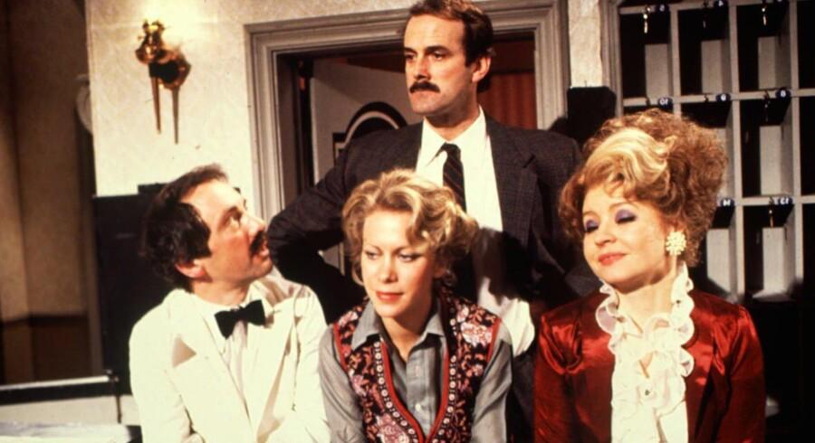 Kolerisk temperament har Steve Bloom – ifølge flere kunder – tilfælles med hotelejer Basil Fawlty (foto) fra »Halløj på badehotellet«. Foto: Scanpix