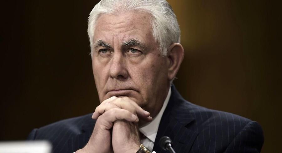 Arkivfoto. Den amerikanske udenrigsminister: Jeg er blevet forsikret om, at Libanons afgåede regeringschef er på fri fod.