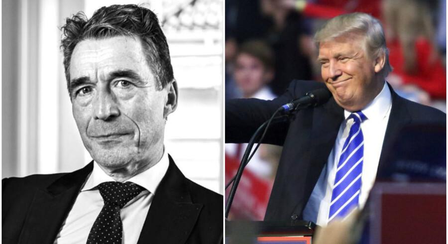 Tidligere statsminister og generalsekretær for NATO, Anders Fogh Rasmussen, har i dag konsulentfirmaet Rasmussen Global.