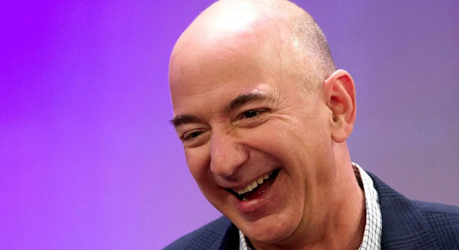 Amazon-stifter og topchef Jeff Bezos er en temmelig populær herre for tiden.