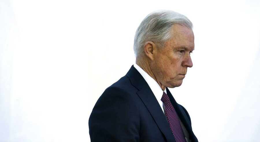 ARKIVFOTO: Jeff Sessions den amerikanske justitsminister