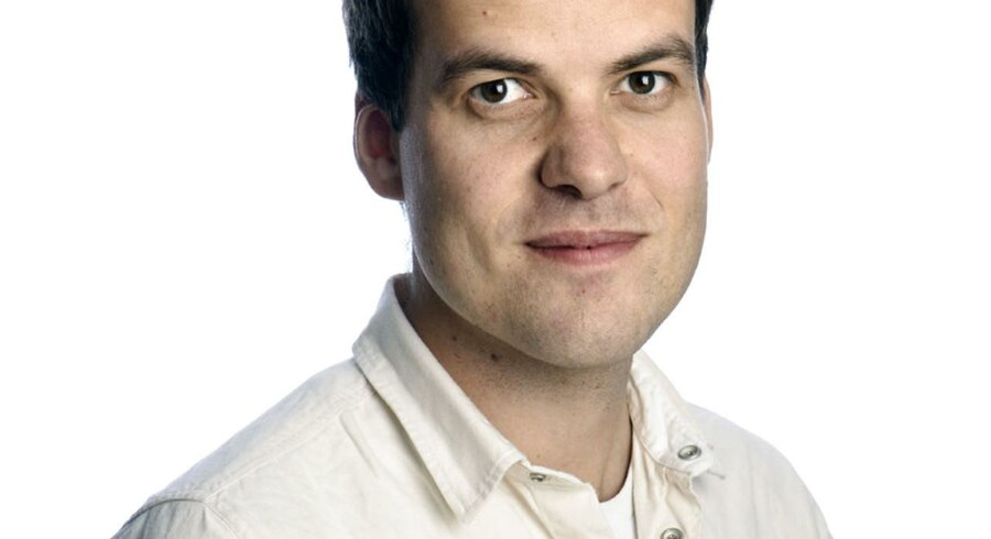 Kristoffer Dahy Ernst, klummeskribent og partner i Double.
