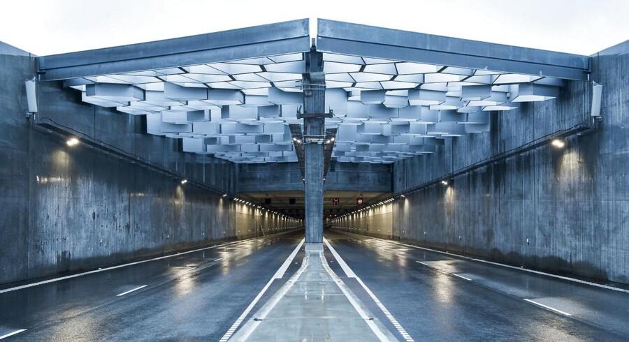 Dagligt kører der 20.000 bilister på den nye Nordhavnsvej, som åbnede for tre måneder siden.