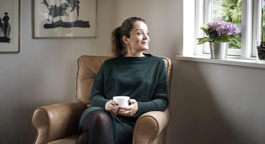 Parterapeut Katrine Axholm har i sin praksis masser af 40-årige mænd, der siger, at deres liv ikke er, som de ønsker det. Foto: Sofie Mathiassen