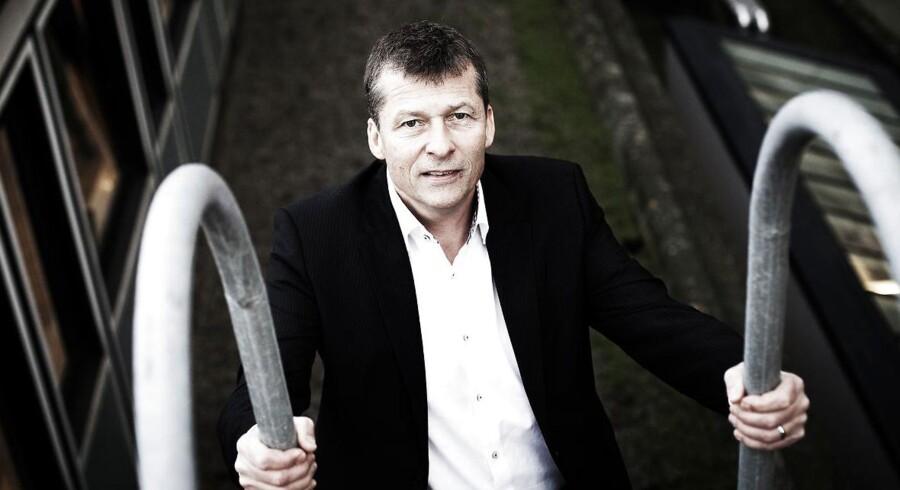 Gert Jonassen, adm. direktør for Arbejdernes Landsbank, er skuffet over en ny afgørelse fra Skatterådet.