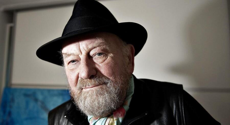 Akrivfoto: Sagen mod provokunstneren Uwe Max Jensen, der er sagsøgt af Muhammedtegneren Kurt Westergaard, er udskudt.