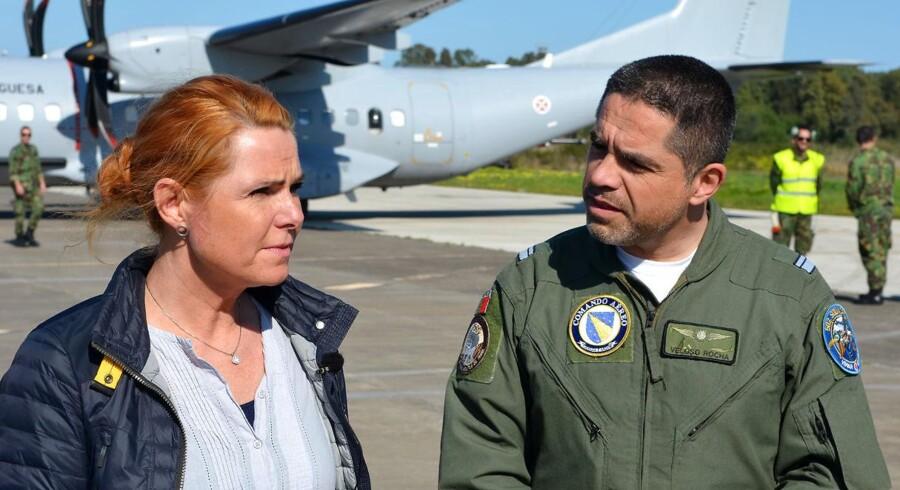 I ugens løb har udlændinge- og integrationsminister Inger Støjberg (V) befundet sig på baser med Middelhavet, hvorfra hun har fulgt flygtninge og immigranters forsøg på at komme til Europa.