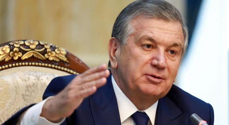 Arkivfoto: »Usbekistan er parat til at hjælpe med efterforskningen af denne terrorhandling,« siger præsident Sjavkat Mirzijojev.