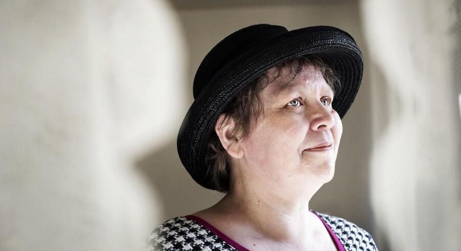 Anette Sand er 53 år og fraskilt. Fotograferet i hendes hjem i København