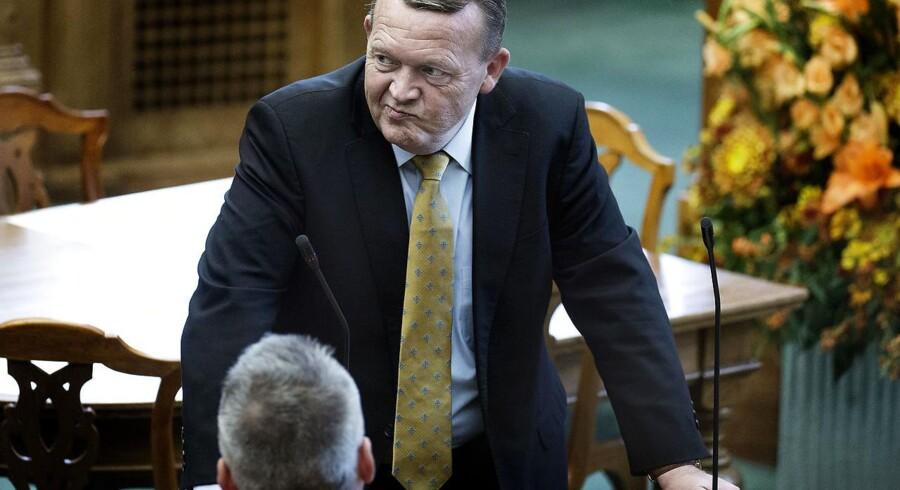 Statsminister Lars Løkke Rasmussen er blevet tvunget til at udsætte sin 2025-plan. Foto: Liselotte Sabroe/Scanpix 2016