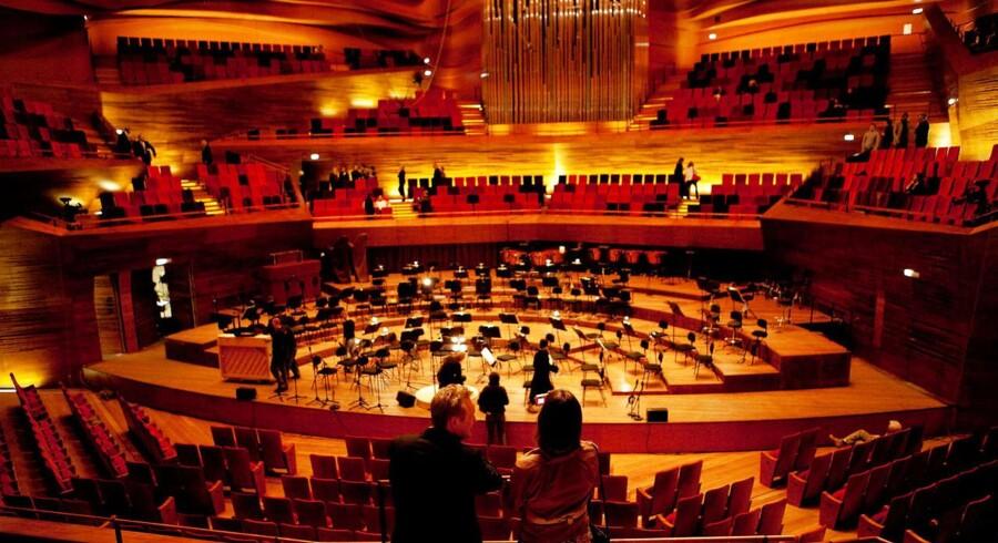 DR's koncerthus - skal på egne ben mener DF og kulturministeren.