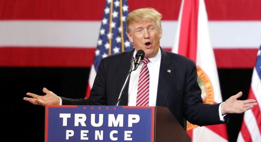 Det er en vittighed med et solidt fundament af frygt: At Donald Trump en dag går på TV og siger - »og i øvrigt har det hele bare være et stunt. Reklame for mit nye reality-show.«