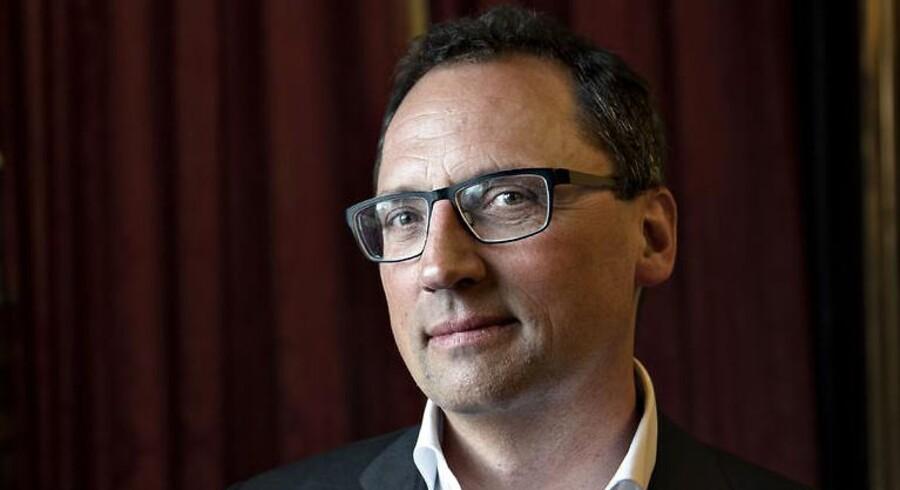Gyldendals nye administrerende direktør Morten Hesseldahl ønsker ikke at forlaget skal forlade den dyre adresse i Klarebioderne. (Foto: Ida Guldbæk Arentsen/Scanpix 2018)