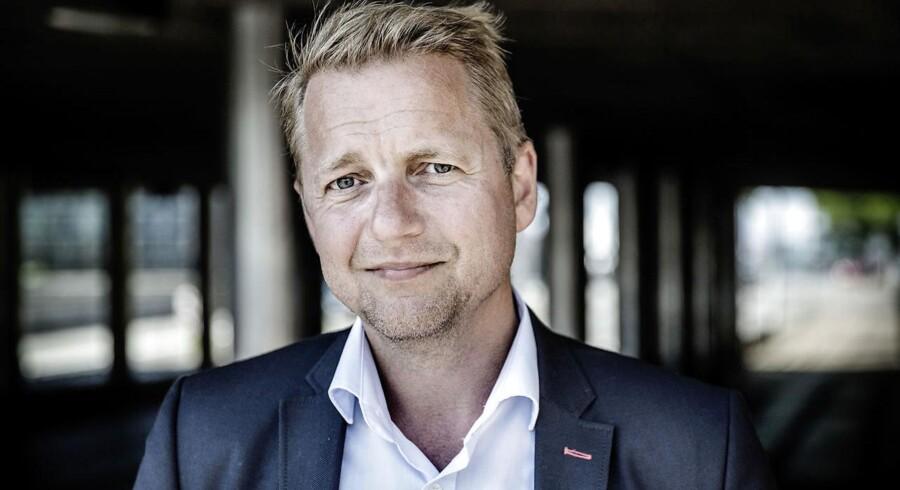 Jan E. Jørgensen skubber Martin Geertsen ud af Folketinget. BV.ARKIV: Martin Geertsen, folketingsmedlem for Venstre. (Foto: Thomas Lekfeldt/Scanpix 2015)
