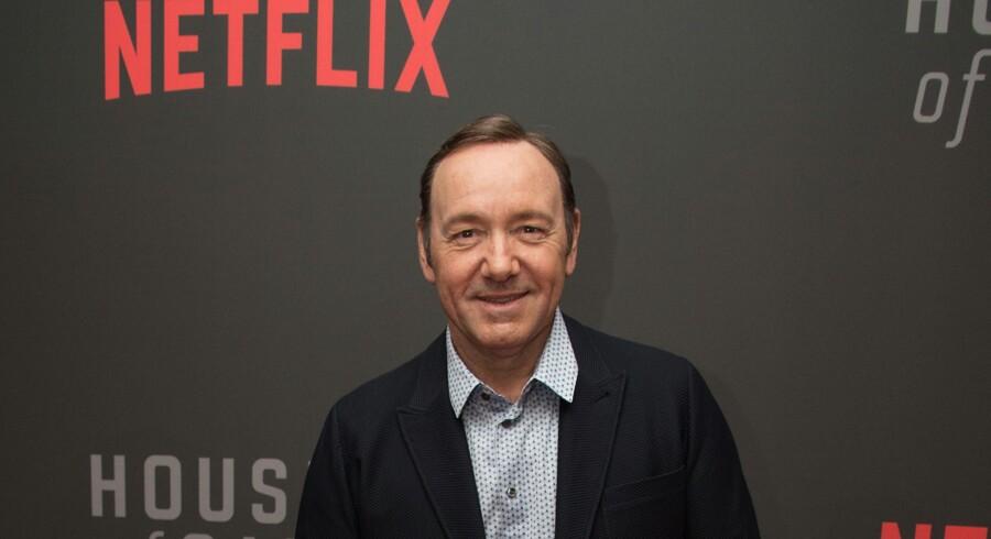 Netflix kapper nu officielt alle bånd til Kevin Spacey, der er stjernen i streamingtjenestens hitserie House of Cards. Scanpix/Nicholas Kamm