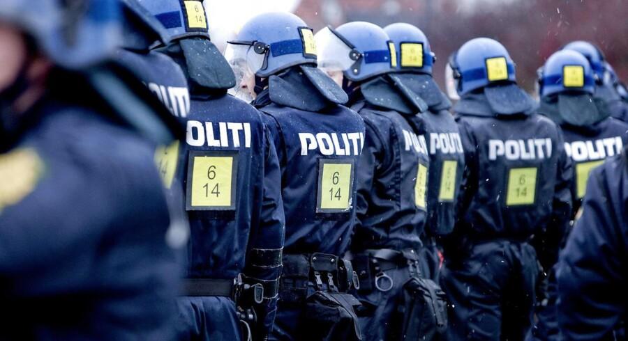 Tre danske politifolk har været undercover i Oslo, hvor de udgav sig for at være fra den russiske mafia. Målet var at fælde en bande narkokriminelle. 13 personer er nu tiltalt i sagen. Arkivfoto.