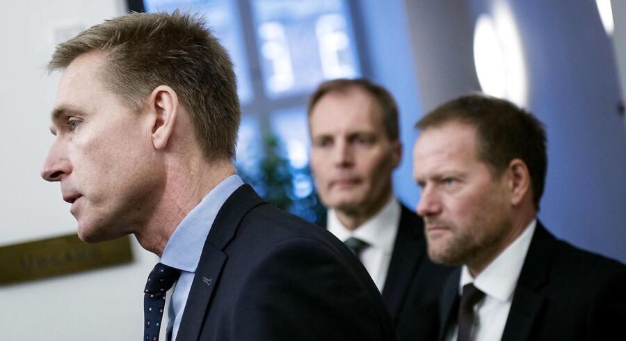 Regeringen mødes med Dansk Folkeparti til forhandlinger om finansloven for 2018.