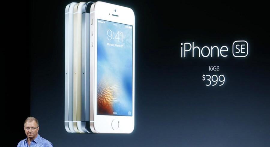 Den nye iPhone SE, som Apple præsenterede mandag aften dansk tid, bliver den billigste nylancerede iPhone nogensinde.