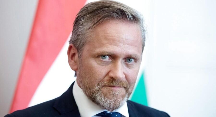 Den danske ambassade bliver i Tel Aviv udtaler udenrigsminister Anders Samuelsen (LA)