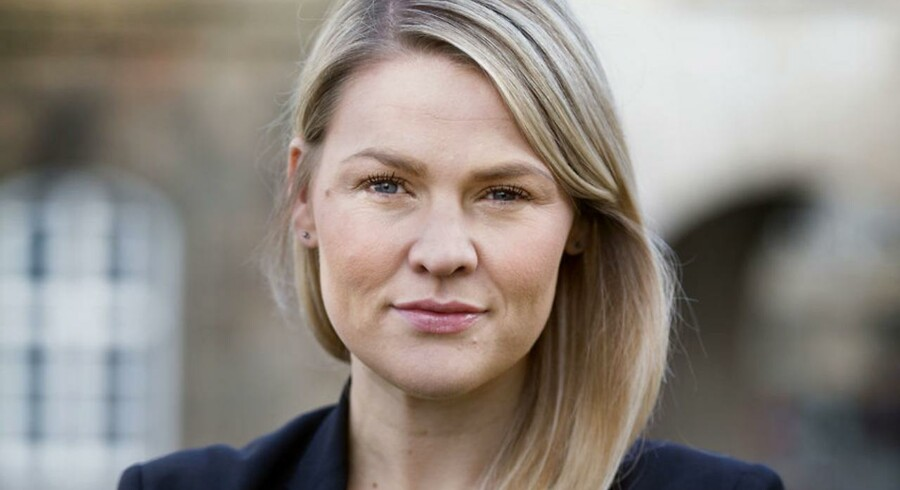 Folketingsmedlem Laura Lindahl (LA) på Christiansborg.