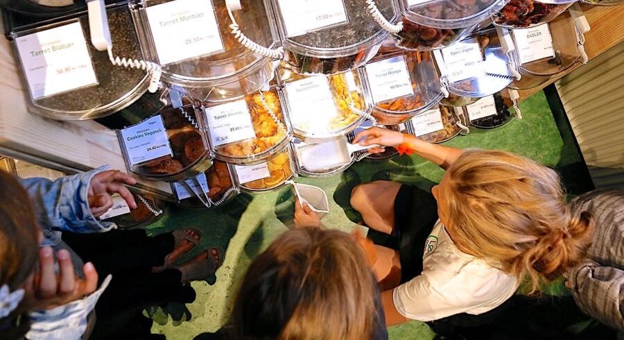 Hos LØS Market på Vesterbro putter man selv de mængder, man ønsker, i sine medbragte emballager. Foto: JM Babonneau