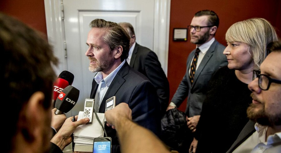 En ny Gallup-måling udtrykker klar tilbagegang i vælgeropbakningen til Anders Samuelsen og Liberal Alliance.