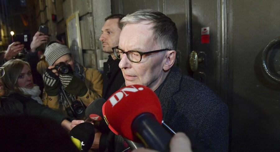 Akademiets direktør og midlertidige sekretær, Anders Olsson.