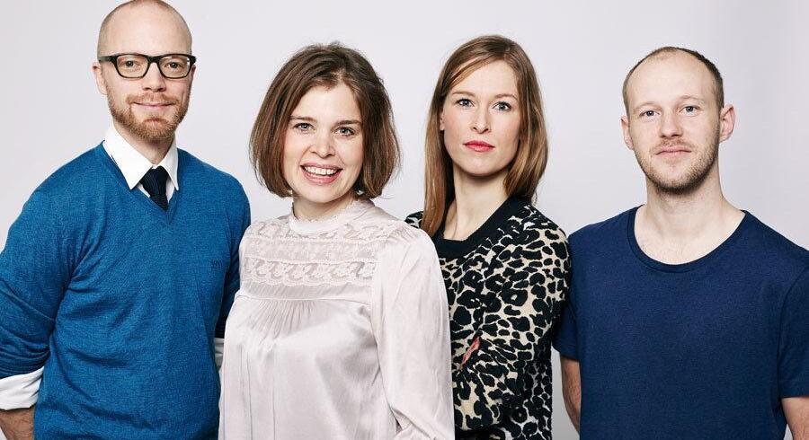 Medstifter og chefredaktør af Zetland, Lea Korsgaard (nr. 2 fra højre), fortæller her om det nye initiativ.