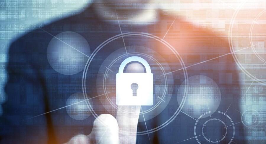 Modelfoto: En række dårlige vaner på computeren åbner døren på klem for hackere i cyberspace.