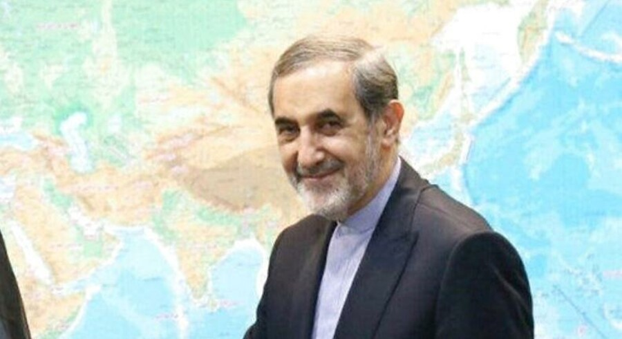Akram Kaabi, the leader of Nujaba, (L) meets with Ali Akbar Velayati, senior advisor to Supreme Leader Ayatollah Ali Khamenei, in Tehran, Iran, in this handout photo released by Tasnim News Agency on September 1, 2016. Tasnim News Agency/Handout via REUTERS To match Special Report MIDEAST-CRISIS/IRAQ-NUJABA ATTENTION EDITORS - THIS PICTURE WAS PROVIDED BY A THIRD PARTY.NO RESALES.NO ARCHIVE.
