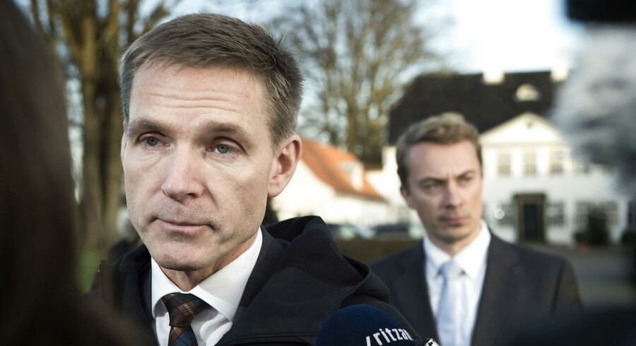 Kristian Thulesen Dahl (tv) og Morten Messerschmidt (th).