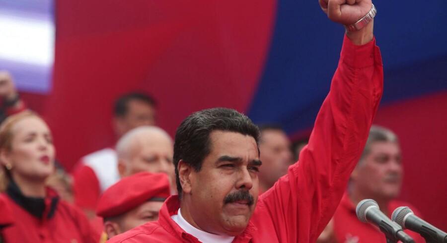 Oppositionen håber at kunne presse Maduro til at udskrive valg.