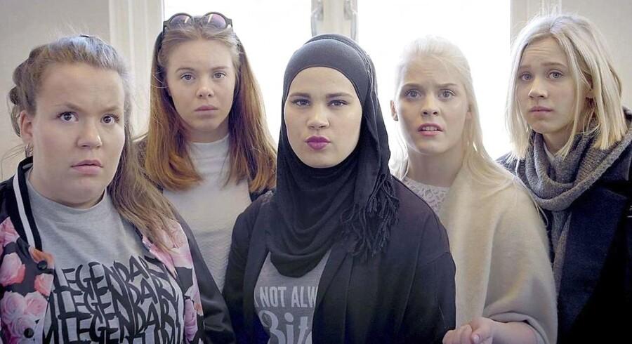 """Arkivfoto: Den norske tv-station NRKs serie """"Skam"""" tog både Norge, Danmark og mange andre lande med storm, da den i knap to år gennem fire sæsoner skildrede norske gymnasieelevers liv på Hartvig Nissens skole i Oslo."""