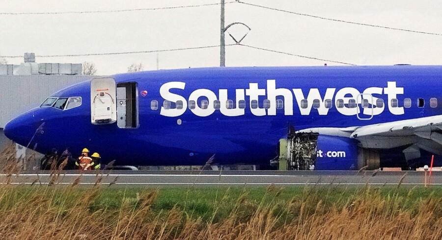 Der var i alt 149 passagerer ombord på Southwest Airlines Flight 1380 fra New York mod Dallas.