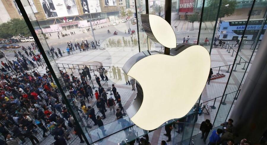 Tirsdag aften, dansk tid, præsenterer Apple regnskab, og det har fået stemningen til at stige på det amerikanske marked.